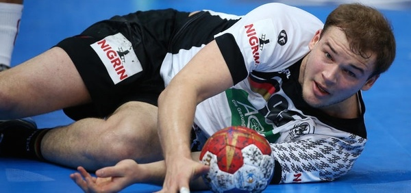 Deutscher Handball-Nationalspieler Paul Drux (Foto: sampics Photographie/Augenklick)