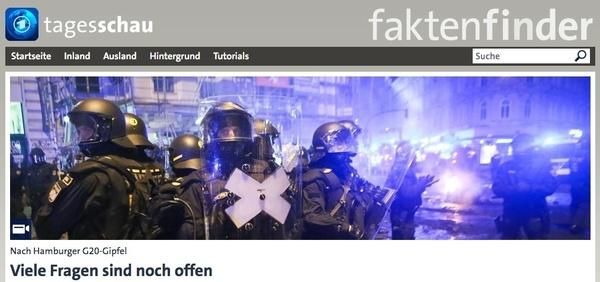 Website ARD-Faktenfinder (Foto: Screenshot)