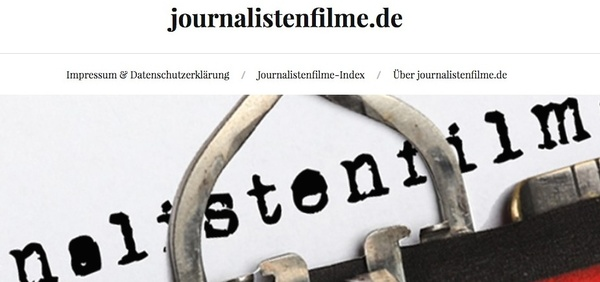 Website Journalistenfilme.de (Foto: Screenshot)