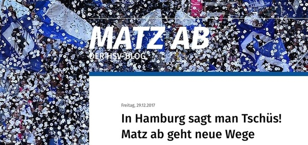 "Website ""Matz ab"" (Foto: Hamburger Abendblatt/Screenshot)"