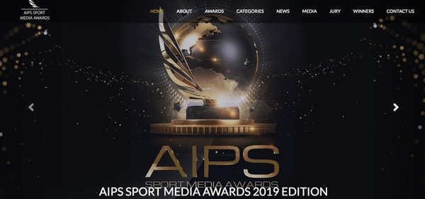 AIPS Sport Media Awards 2019 (Foto: Screenshot der Website)