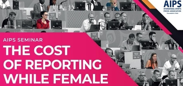 "AIPS-Seminar ""The Cost of Reporting while Female"" (Abbildung: AIPS)"